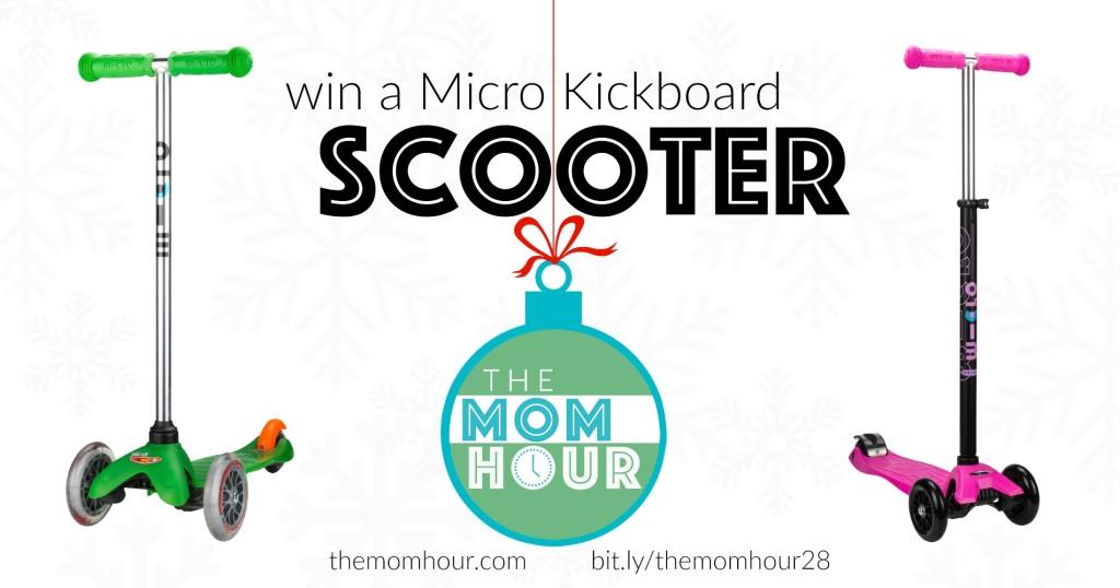 Win a Micro Kickboard Scooter