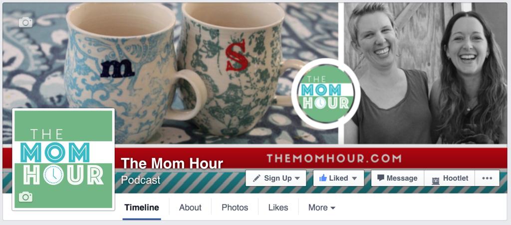 The Mom Hour Facebook
